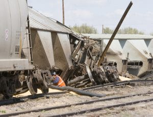 30 CSX Rail Cars Derail in Macon County, Georgia